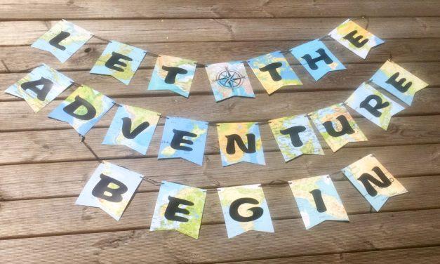Let the adventure begin…