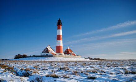 Westerhever Leuchtturm – Winterliche Impressionen